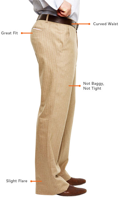 How to look swell in trousers.