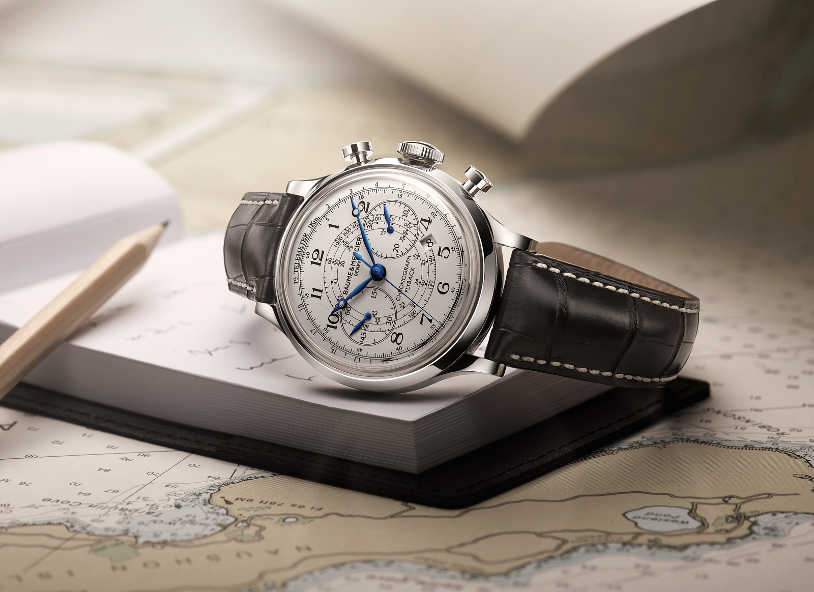 Baume Et Mercier Capeland Flyback Chronograph How To Be