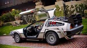 Everyone loves a DeLorian, especially with a flux capacitor at 88 miles per hour, all brushed steel supercar looking time machine. I will never see one with out hearing Huey Lewis
